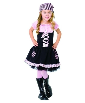 Little Pirate Girl Kids Costume