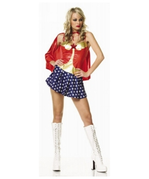 All American Babe Adult plus size Costume