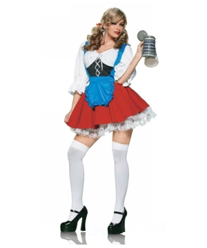 Import Beer Girl Women Costume