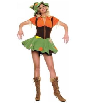 Scarecrow Cutie Womens Costume