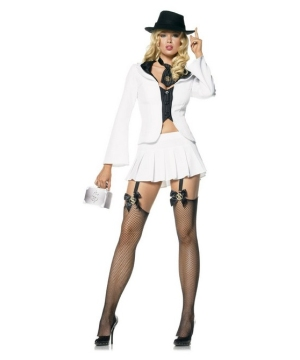 Gangster Sexy Women Costume