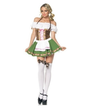 Gretchen Beer Garden Costume - Adult Costume