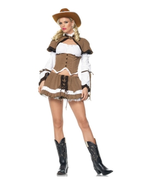 Cowgirl Sheriff Adult Costume