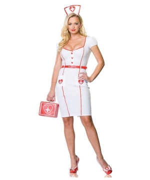 Nurse Knockout Women Costume