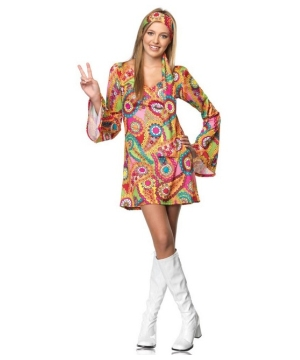 Hippie Chick Teen Costume