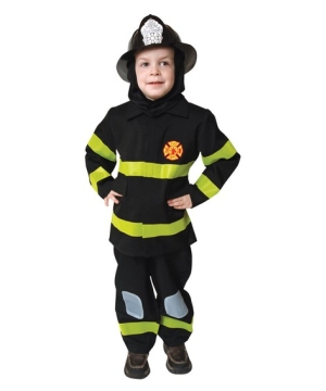 Junior Fire Fighter Kids Costume