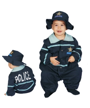 Baby Police Officer Infant Costume