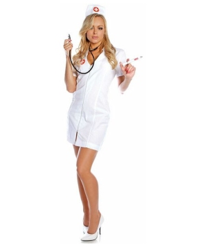 Sexy Hot Flash Nurse Costume - Adult Costume