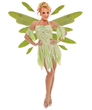 Nymph Green Women Costume