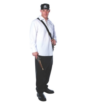 Mens Pirate Shirt - Adult Accessory
