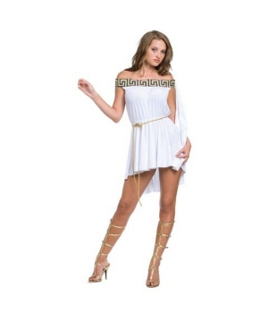Greek off the Shoulder Muse Costume - Adult Costume