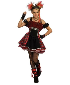 Punk Ballerina Teen Costume