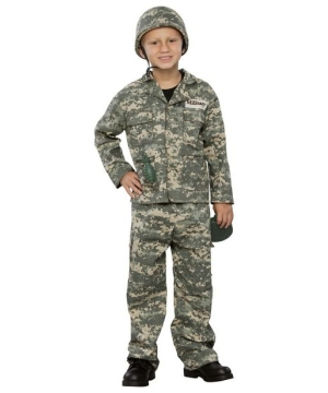 Army Soldier Kids Costume