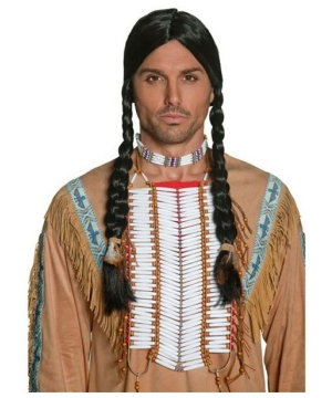 Western Indian Beaded Breastplate Men Costume Acce