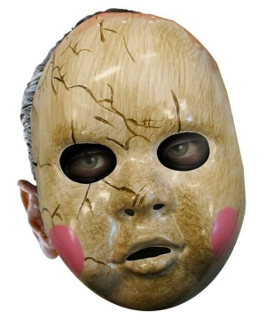 Baby Doll Mask - Adult Mask