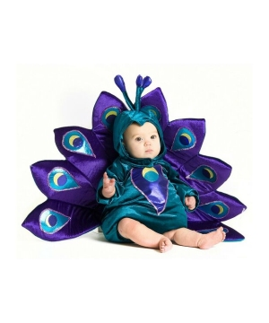 Baby Peacock Infant/toddler Costume