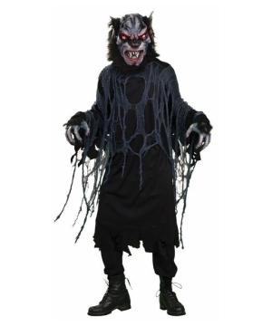 Bat Wolf Adult Costume