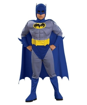 Batman Brave and Bold Kids Costume deluxe