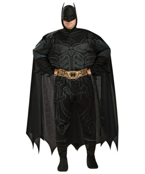 Dark Knight Batman Adult plus size Costume