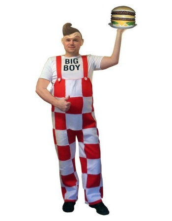 Big Boy Costume