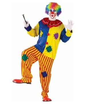 Big Top Clown Adult plus size Costume