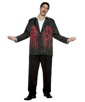 Black Bullets Blazer Costume - Adult Costume