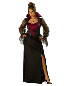 Midnight Vampiress Adult plus size Costume
