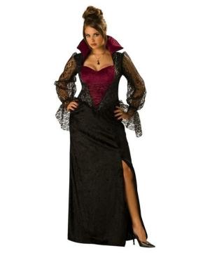 Midnight Vampiress Adult plus size Costume