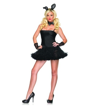 Lace Bunny Adult Costume Accessory