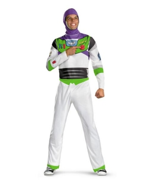 Buzz Light Year Mens Disney Costume