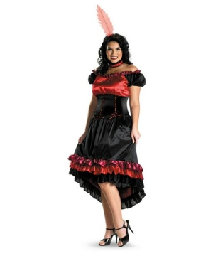 Can Can Cutie Costume - plus size Costume