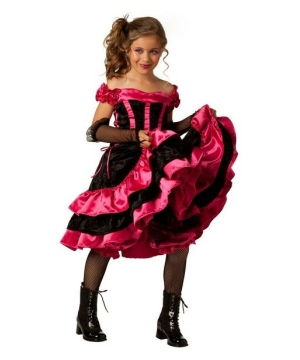 Can Can Dancer Kids Costume
