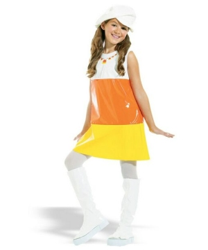 Candy Corn A-go-go Costume - Kids Costume