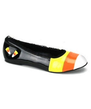 Candy Corn Flat Kids Shoes