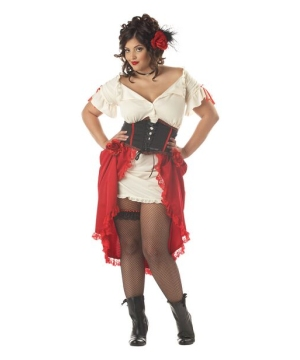 Cantina Gal Costume - plus size Adult Costume