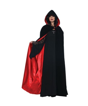 Cape Velvet Satin - Adult Cape deluxe