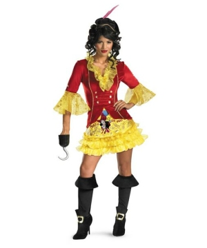 Sassy Captain Hook Women Costume