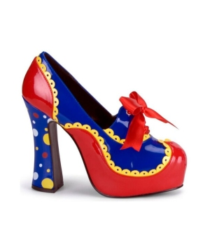 Clown Heels Adult Shoes