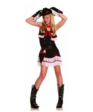 Cowgirl Cutie Teen Costume