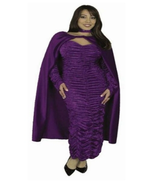Crushed Panne Cape - Adult Accessory