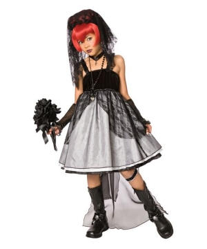 Dark Bride Costume - Kids Costume