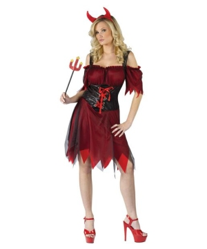 Dark Devil Women Costume