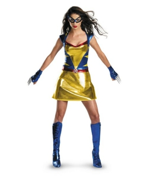 Daughter of Wolverine Sexy Adult Costume
