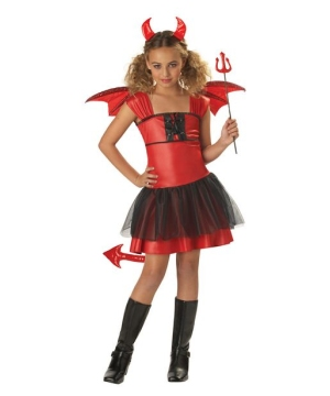 Devil Darling Costume - Kids Costume