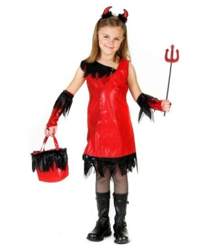 Devil Girl Costume - Kids Costume