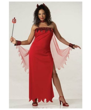 Devil Lady Costume - Women Costume