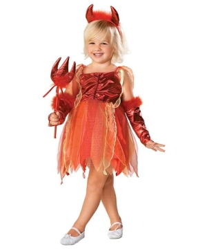Pretty Little Devil Costume - Toddler/Kids Costume