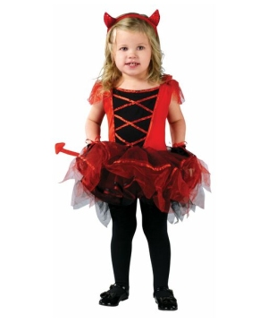 Ballerine Devilina Toddler Girls Costume