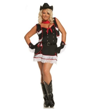 Dirty Desperado Adult plus size Costume