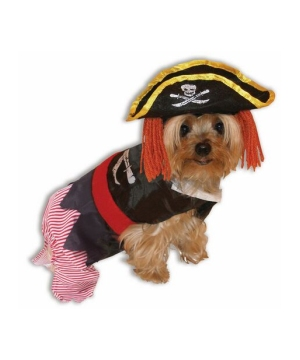 Little Pirate Pet Costume